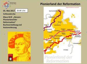 """Klaus Brill """"Hessen Pionierland der Reformation"""