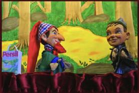 Der Kasper kommt! - Puppentheater auch für die Jüngsten.