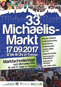 33. Michaelismarkt 2017 in Schwalmstadt-Treysa