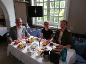 Projekt Sterntaler - Frühstücksstopp in Schwalmstadt